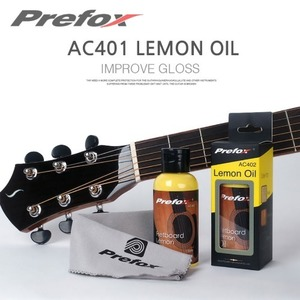 Prefox AC402 Fingerboard Lemon Oil 핑거보드 레몬오일 100ml