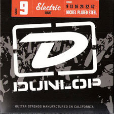 Dunlop Electric Light 니켈스트링009~042(DEN1066)